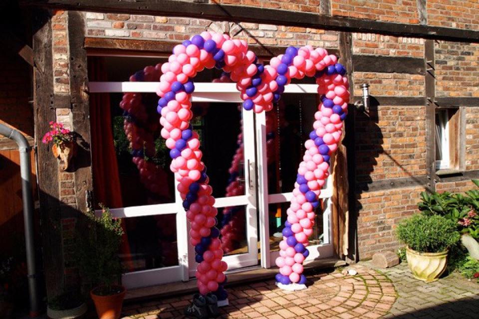 LuftballonKnstler Happu Krenz  Hochzeit Osnabrck