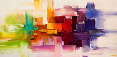 Abstract Home Décor Art Blog
