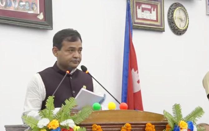 Province 2 tables 33 billion 791 million rupees budget
