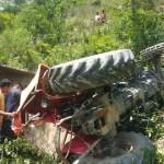 सङ्खुवासभामा ट्र्याक्टर दुर्घटना हुँदा ३७ वर्षीय रमेशको मृत्यु