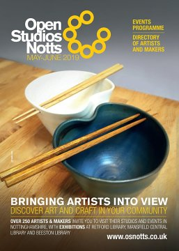 Open Studios Notts 2019 brochure