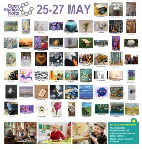 OSNotts artists photomontage 25-27 May