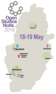 OSNotts events map 18-19 May