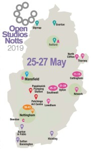 OSNotts events map 25-27 May