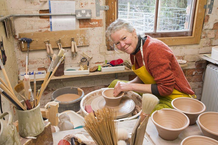 Ann Robbins - Studio
