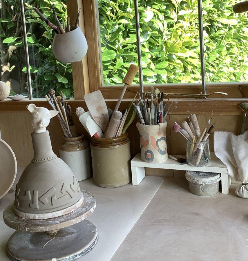 Anna Binns - A pet urn in the making