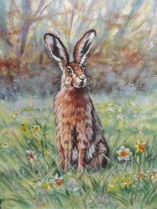 Jude Rawson - Meadow Hare