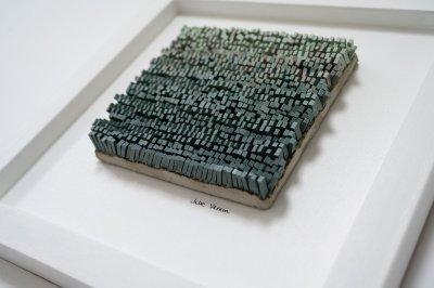 Julie Vernon Mosaics - Green Drift
