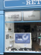 Retford Hub Window Display 2