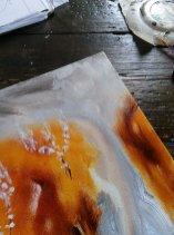 Christine Howard - Oil on Canvas work in progress