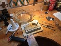 Helen Domleo - Chain making soldering