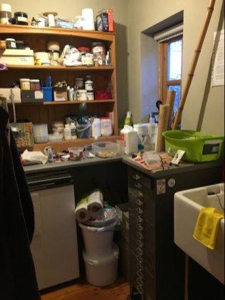 Janet Gilbert, dye room