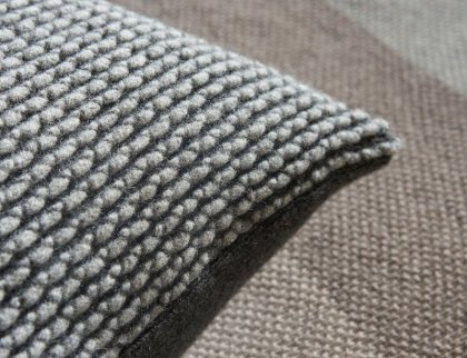 Janie Knitted Textiles - Greystone cushion