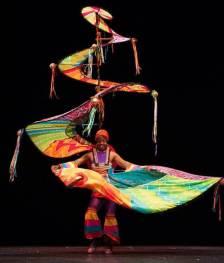 Jess Kemp Spiral carnival costume