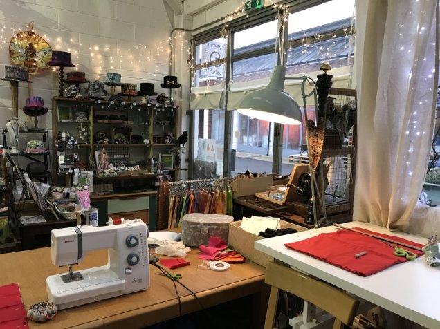 Jess Kemp - studio space and curious shop