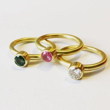 Nottingham Jewellery School - lex rings