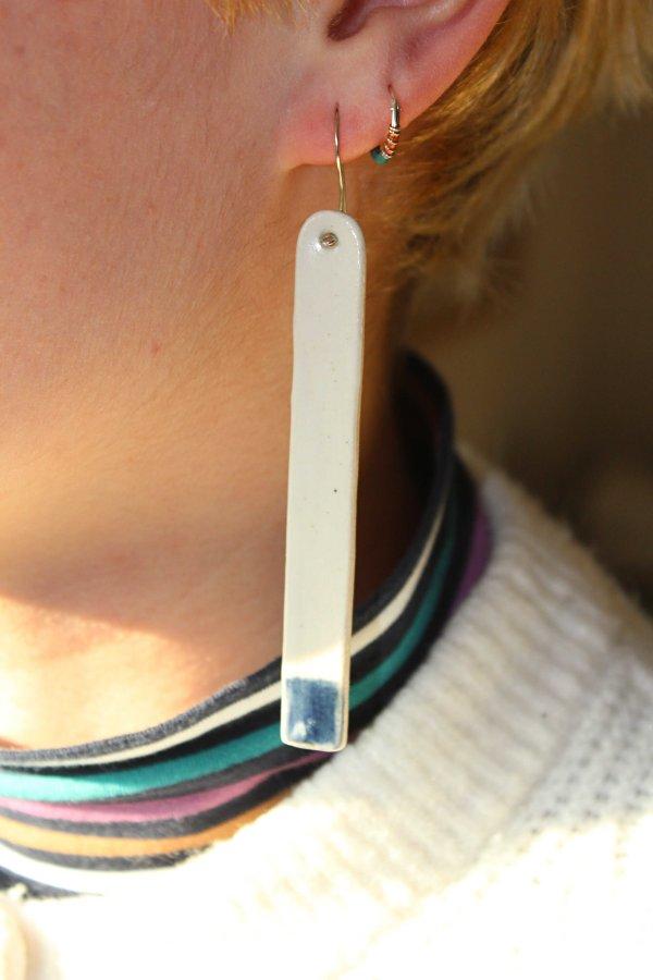 Ruby Daley - Dipped Chalk Earring