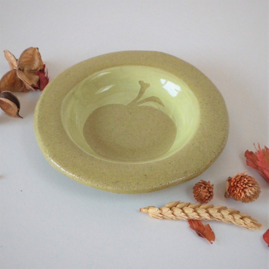 Sarah Burton - Ceramic apple plate