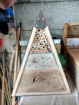 Steve Hunt - large insect hotel