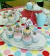 Ceramic cupcakes - Clare Taylor
