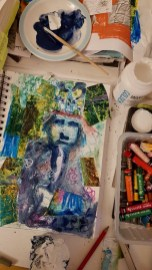 Mandy Bray - studio sketchbook