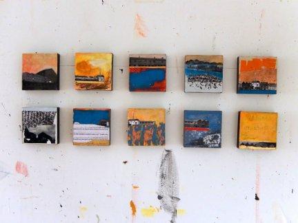 Corrina Rothwell 10cm paintings