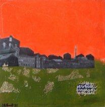 Corrina Rothwell, 'Ignore At Your Peril', acrylic and mixed media on panel, 15 x 15, £120