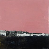Corrina Rothwell, 'Impenetrable', acrylic and mixed media on panel, 20 x 20, £160
