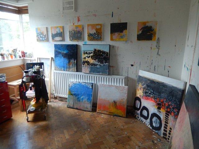 Corrina Rothwell - Studio