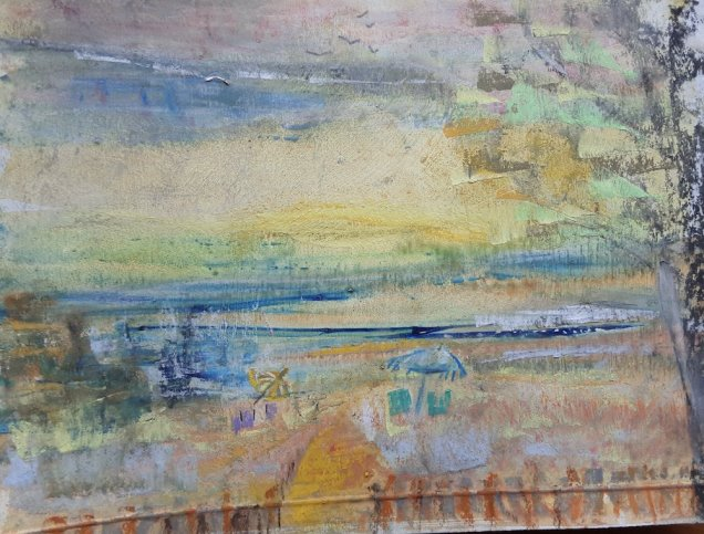 Fiona Aitken - Abstract then seeing different things