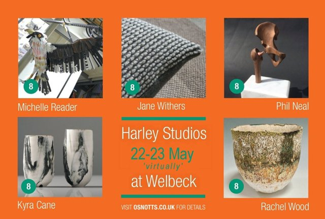 Harley Studio Artists - 22-23 May virtual opening