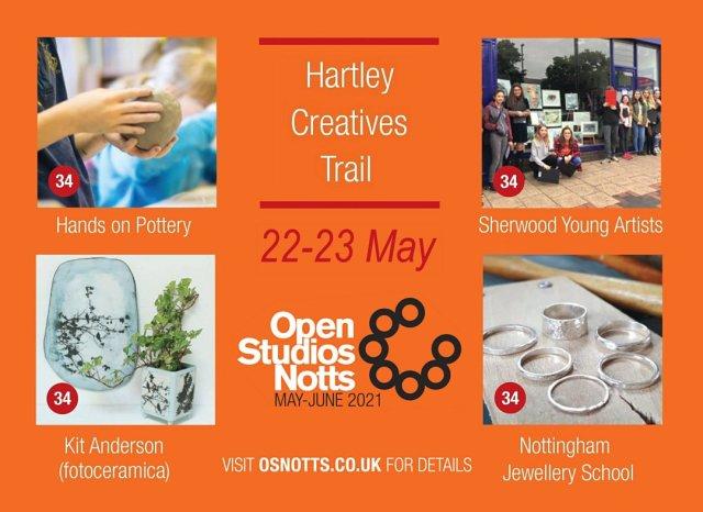 Hartley Creatives - open studios 22-23 May