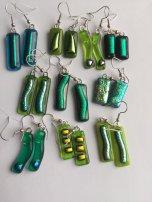 Stella Chadwick - Earrings greens
