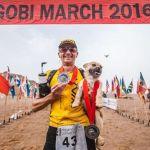 Щенок пробежал марафон, чтобы завоевать сердце своего нового хозяина