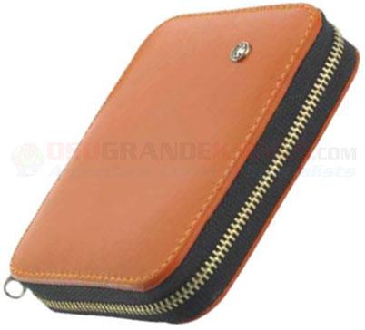 Dovo Mens Manicure Kit Calfskin Leather Case Nail