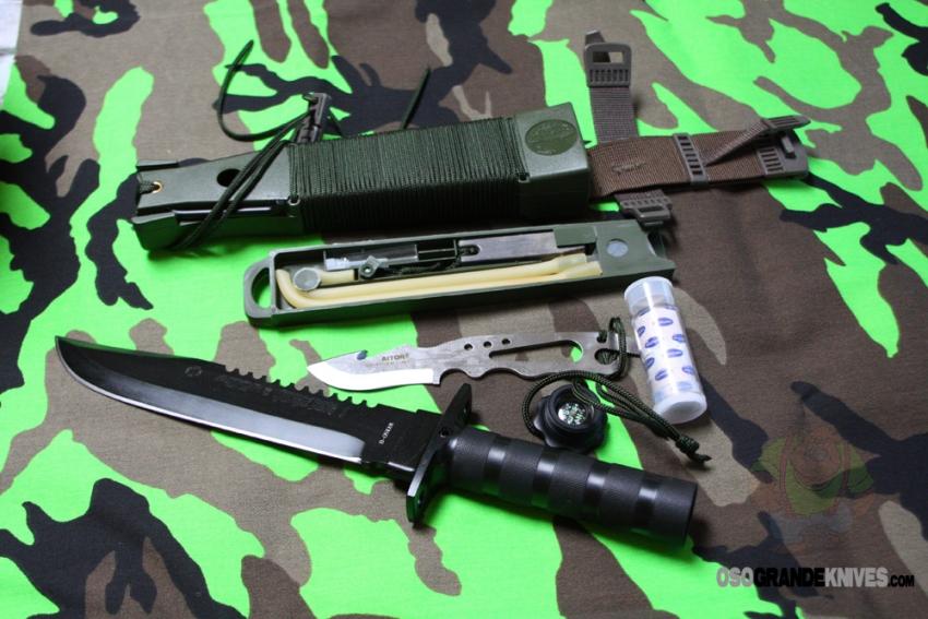 AITOR Jungle King I Survival Knife Black  OsoGrandeKnives