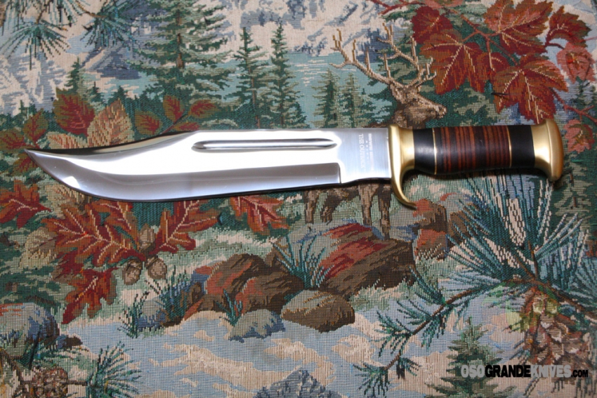 Down Under Knives Outback Bowie Fixed Blade Knife DUKCD