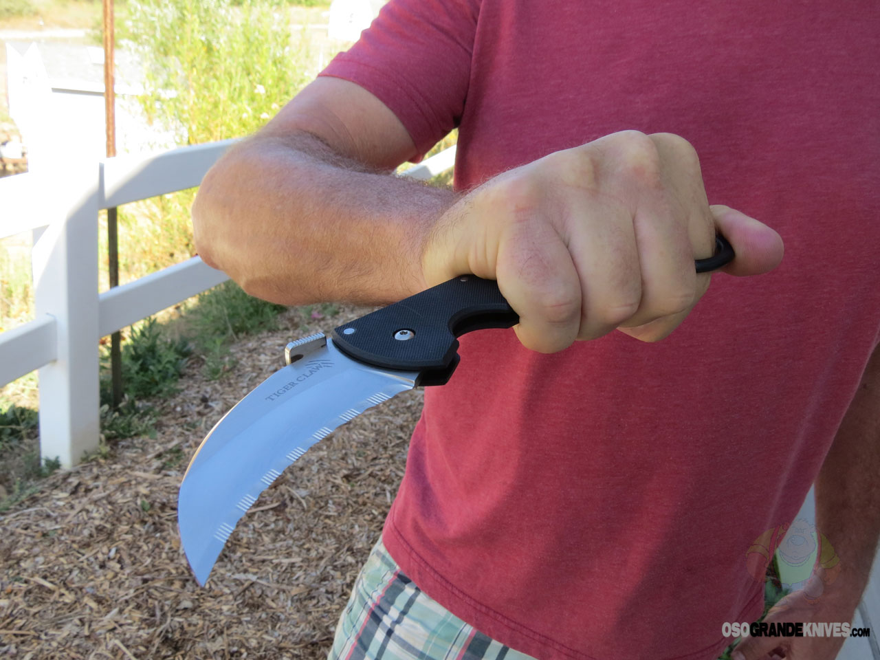 Cold Steel Tiger Claw Folding Karambit 3 Inch CTSXHP