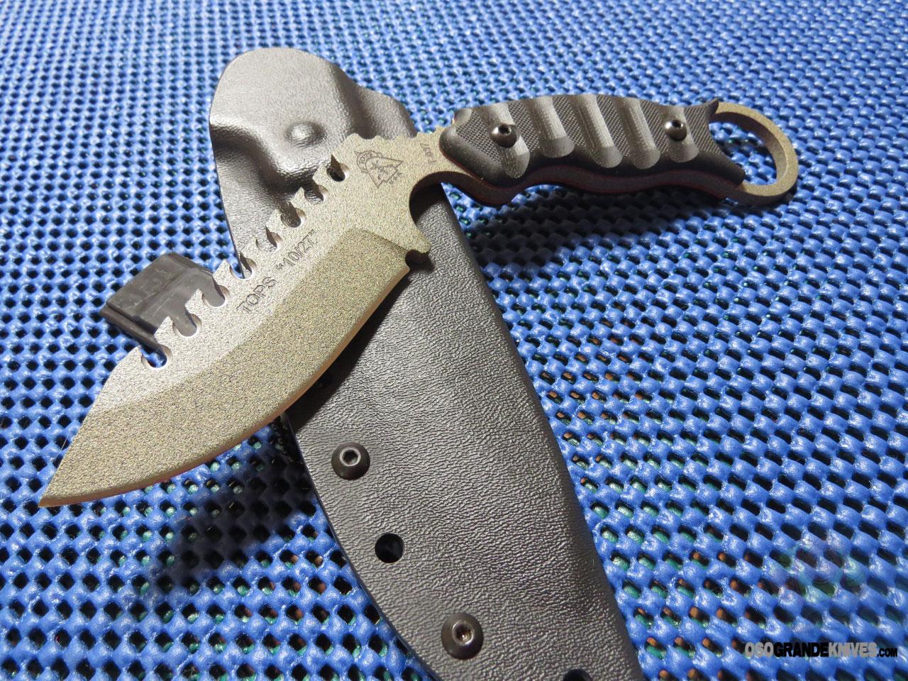 TOPS Knives 1027 Karambit Knife 35 Inch Fixed 1095HC