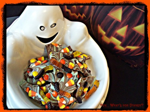 chocolate candy survey on Halloween