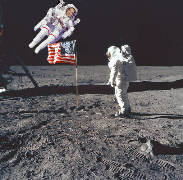 Humping on moon caused great problems for the astronauts