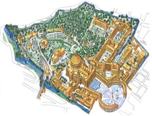 Vatican City State map