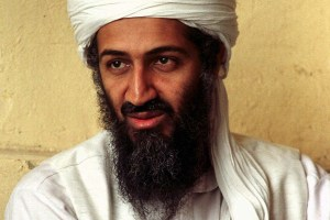 FILE - In this April 1998 file photo, exiled al Qaida leader Osama bin Laden is seen in Afghanistan. Osama bin Laden was unquestionably within reach of U.S. troops in the mountains of Tora Bora when American military leaders made the crucial and costly decision not to pursue the terrorist leader with massive force, a Senate report says. (AP Photo, file)