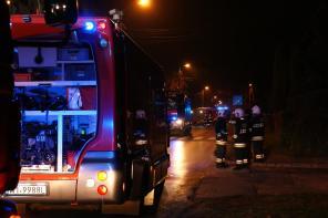 Niebezpieczna substancja przy ul. Dąbrowskiego w Piastowie