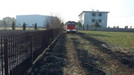 Interwencja pożar trawy regulska zd3