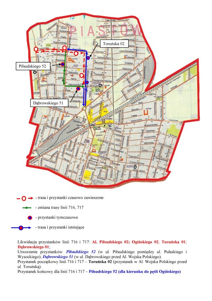 716 i717 - objazd Sowińskiego-16062015