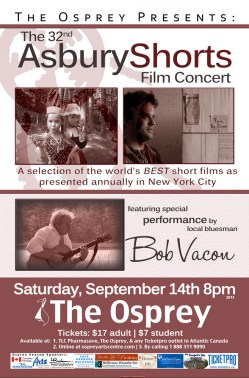 32nd Asbury Short Film Concert