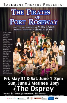 Basement Theatre - Pirates of Port Roseway
