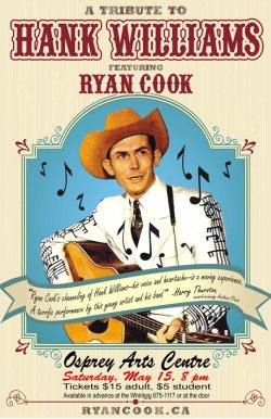 Ryan Cook - Hank Williams