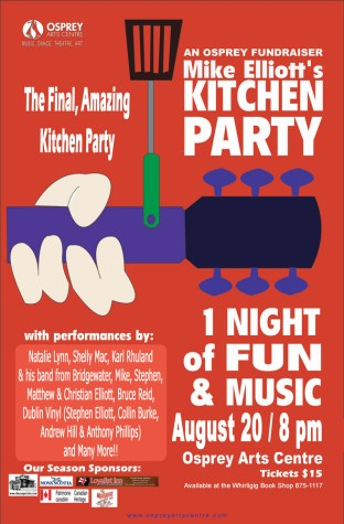 Mike Elliott's Kitchen Party 2011